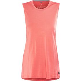 Odlo Natural 100% Merino Warm Koszulka bez rękawów Kobiety, dubarry-grey melange